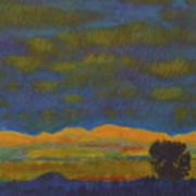 Montana Night Dream Art Print