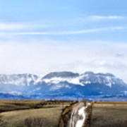 Montana Scenery One Art Print