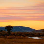 Montana Skies Art Print
