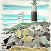 Montauk Lighthouse Art Print