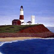 Montauk Point Lighthouse Art Print