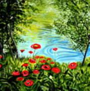 Monte Rio Poppies Art Print