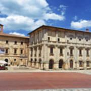 Montepulciano Piazza Grande Art Print