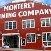 Monterey Canning Company Art Print