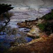 Monterey Coast Art Print by Jen White