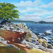 Monterey Coast Art Print