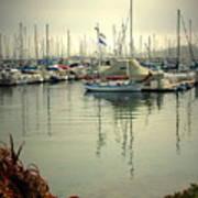 Monterey Marina II Art Print