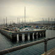 Monterey Marina Art Print