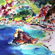 Monterosso  Cinque Terre Italy  Art Print
