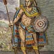 Montezuma II (1480?-1520) Art Print