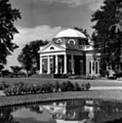 Monticello, Home Of Thomas Jefferson Art Print