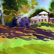 Monticello In October Art Print