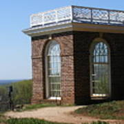 Monticello's Overlook Art Print