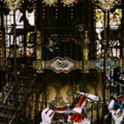 Montmartre Carousel Art Print
