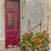 Montmartre Doorway Art Print