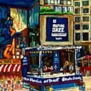 Montreal International Jazz Festival Art Print