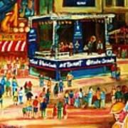 Montreal Jazz Festival Art Print