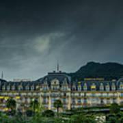 Montreux Palace Art Print