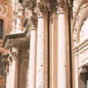 Montserrat Monastery Art Print