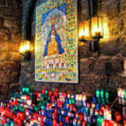Montserrat Shrine Art Print