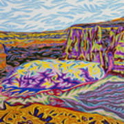 Monument Canyon Art Print