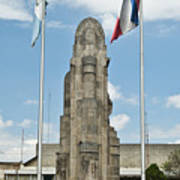 Monument Central Square Quezaltenango Guatemala Art Print