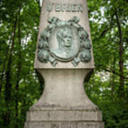 Monument Of Major Obrien In Jedlesee Vienna Art Print