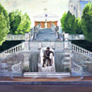 Monument Terrace Art Print by J Luis Lozano