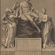 Monument To William Shakespeare Art Print