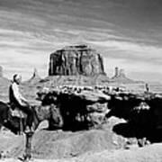 Monument Valley: Butte Art Print