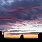 Monument Valley Morning #1 Art Print