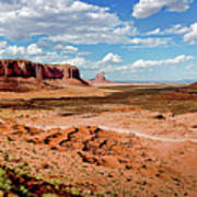 Monument Valley National Park Art Print