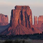 Monument Valley Sunrise 7288 Art Print