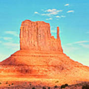 Monument Valley Wide View Art Print