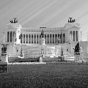 Monumental Architecture In Rome Art Print