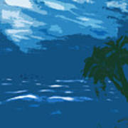 Moods Of The Sea Surreal Art Print