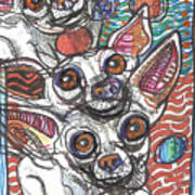 Moodswings Print by Robert Wolverton Jr