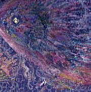 Moody Blues Fish With Sparkling Eye I Art Print