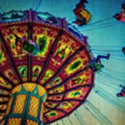 Moody Fair Swing Art Print