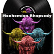 Moohemian Rhapsody Art Print