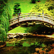 Moon Bridge At Huntington Art Print