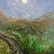 Moon Musings Art Print