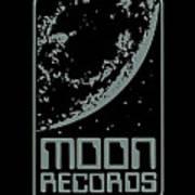 Moon Records Art Print