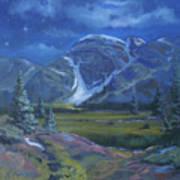 Moondance Meadows Art Print