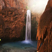 Mooney Falls Grand Canyon 1 Art Print