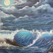 Moonlight Fantasy Art Print