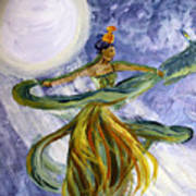 Moonlight Majesty Art Print