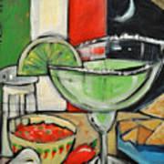 Moonlight Over Margaritaville Art Print
