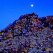 Moonlight Over Peggy's Mountain Art Print