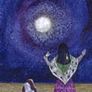 Moonlight Prayer Art Print